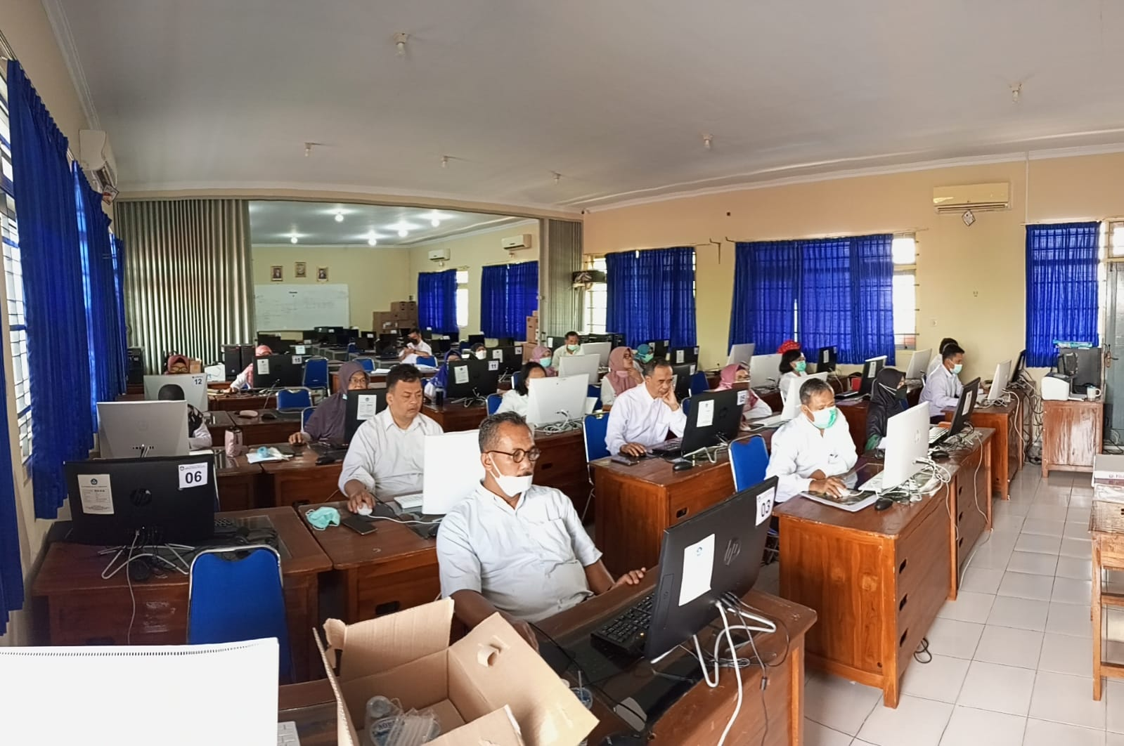 Asesmen Nasional Berbasis Komputer (ANBK) 27-29 September 2021